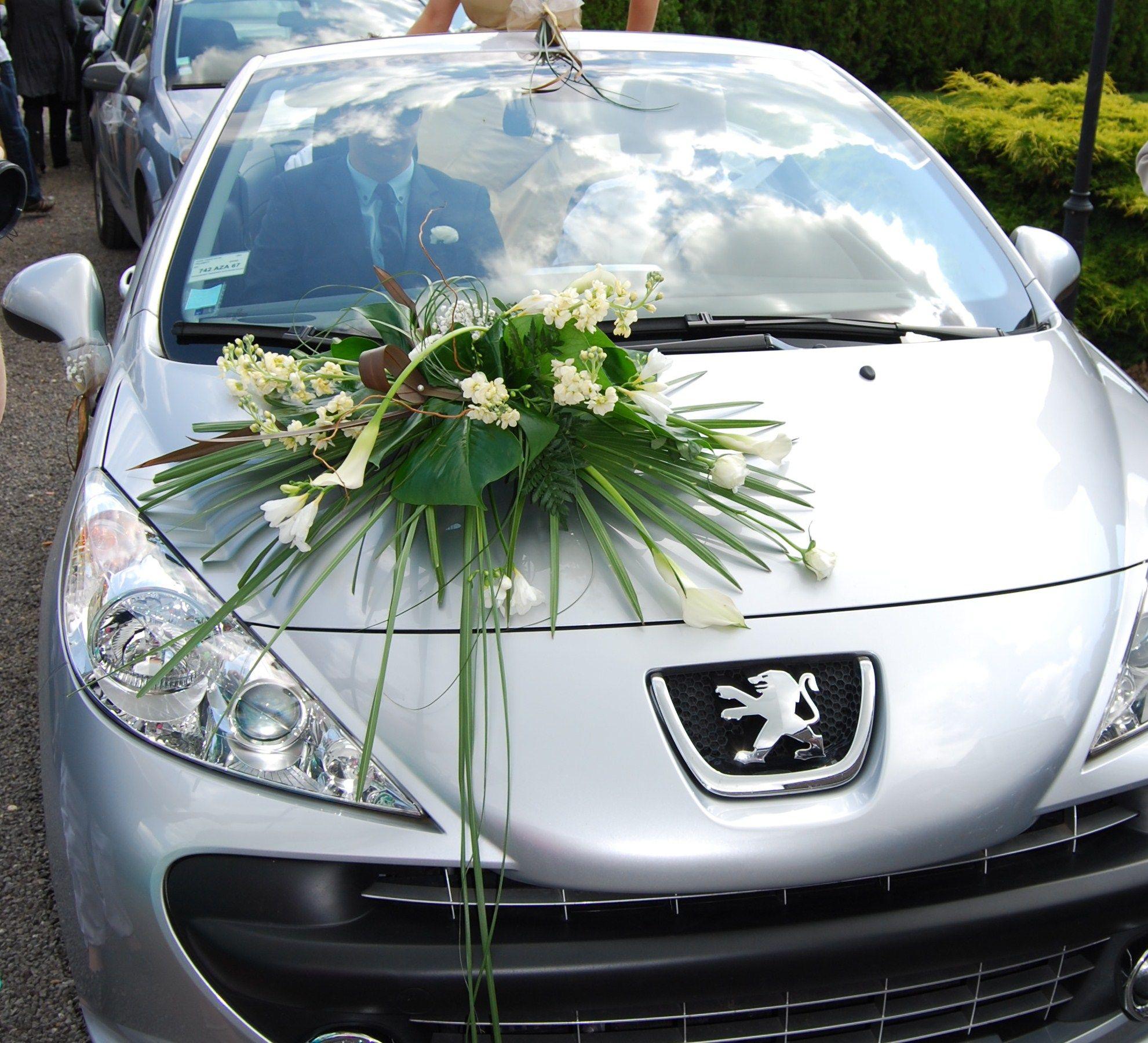 ventouse fleur capos pour la voiture - Ventouse Pour Voiture Mariage
